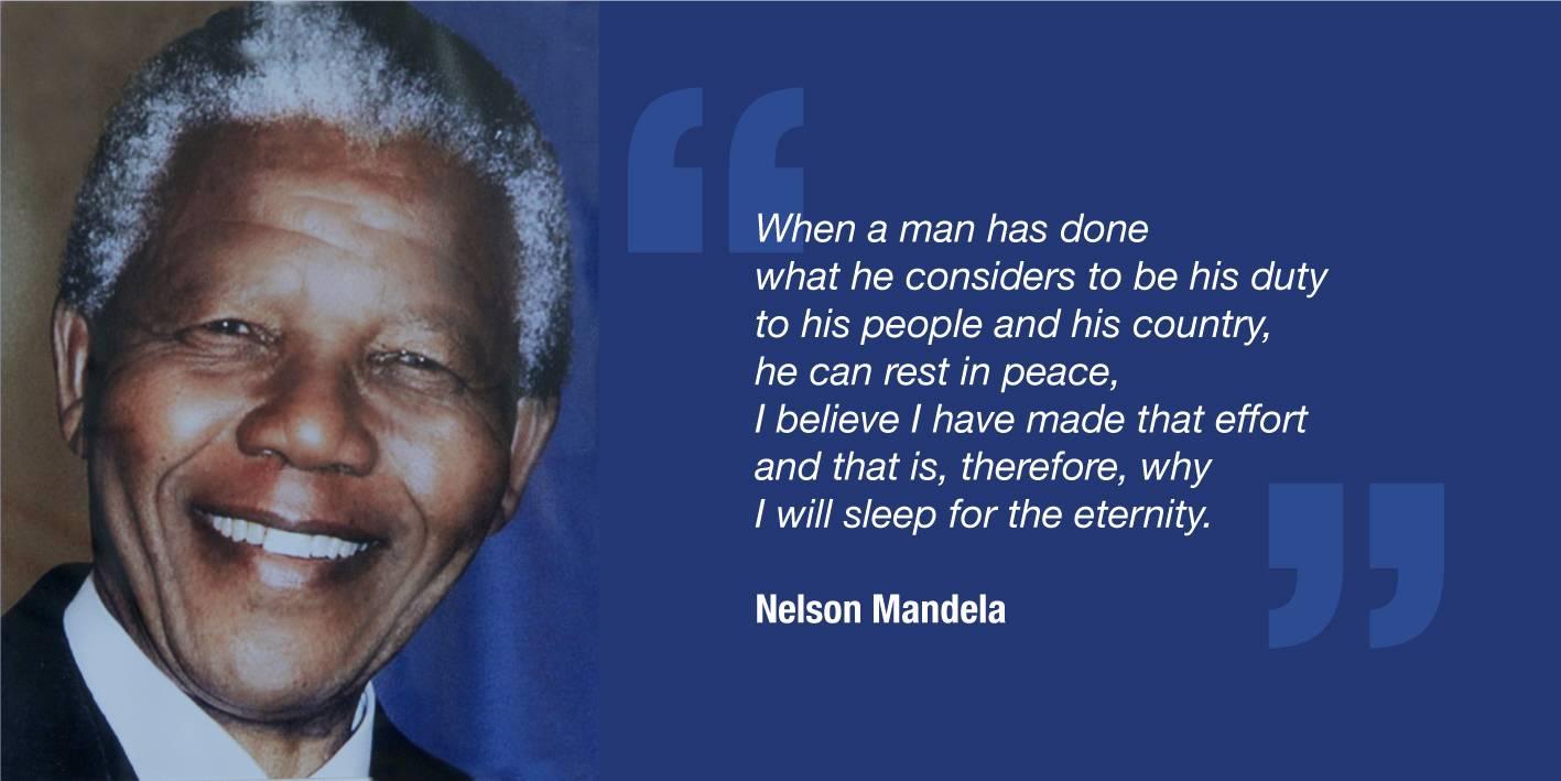 Mandela's album cover