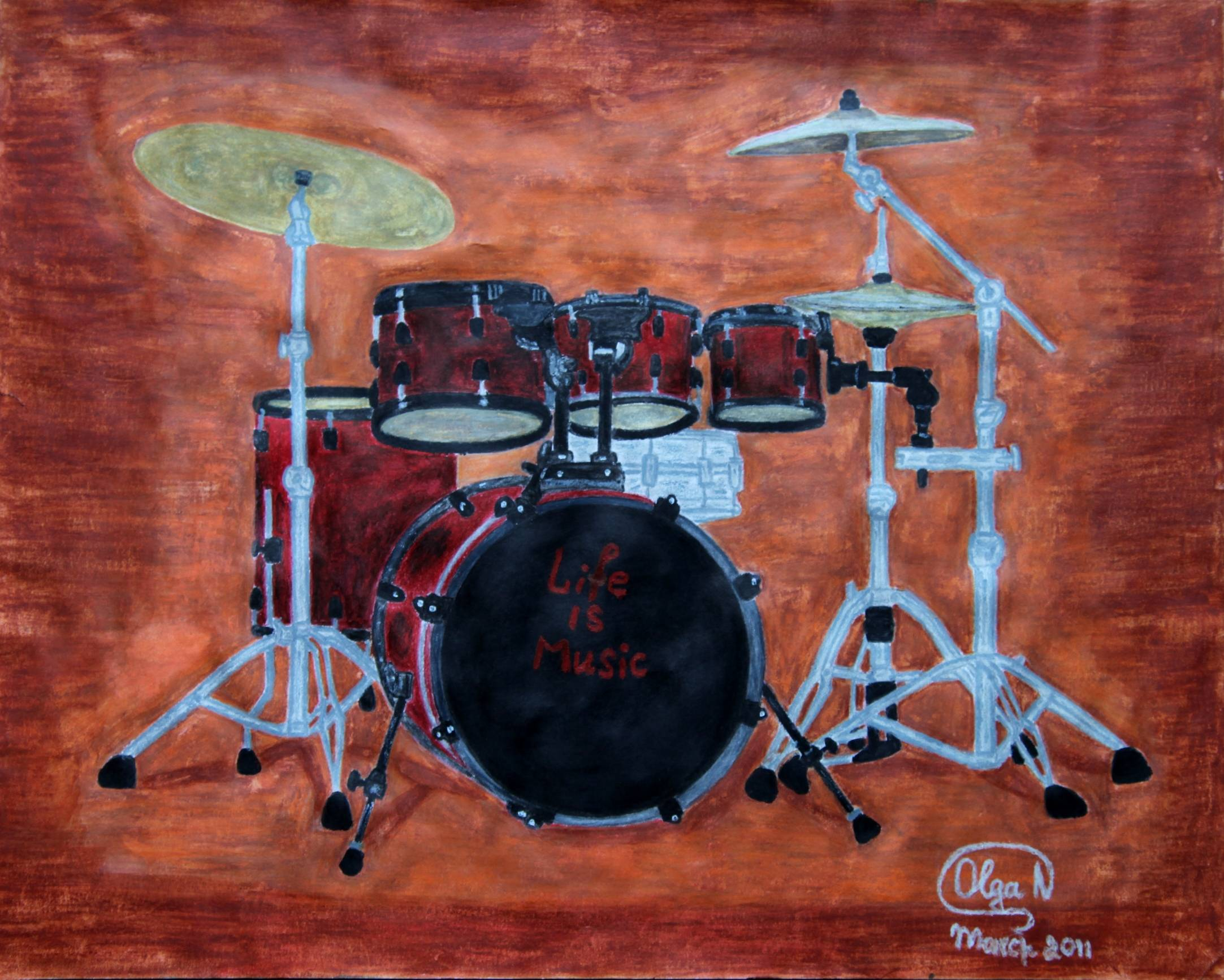 Life Is Music - Drums