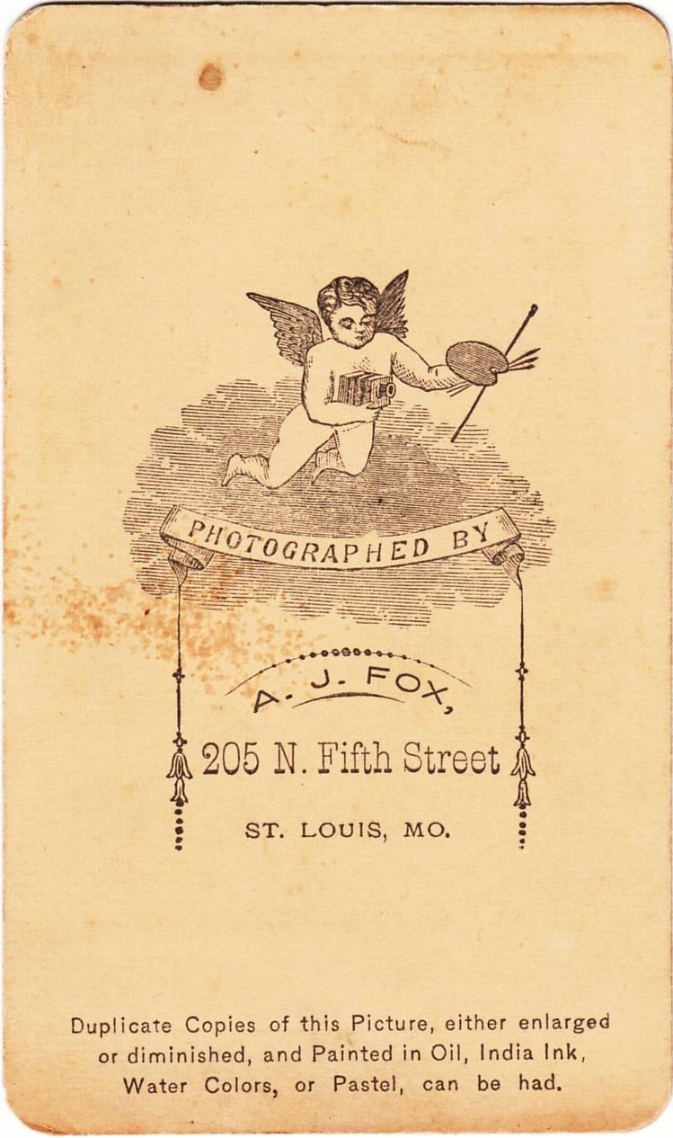 Andrew J. Fox, photographer of St. Louis, MO