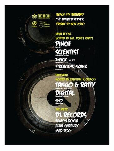 2010.11.19 - Reach 4th Birthday with Digital + Tango & Ratty @ Twisted Pepper - Dublin