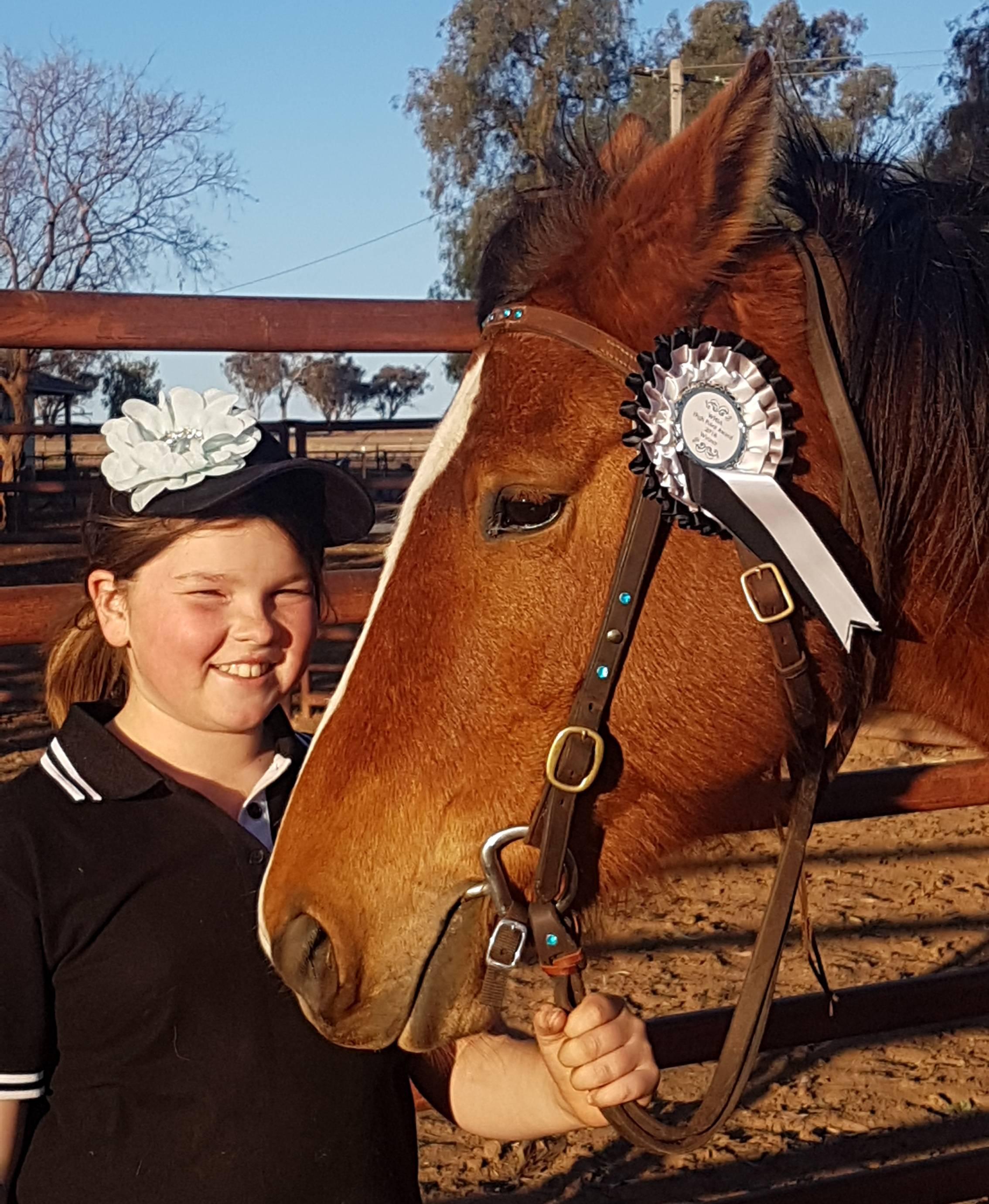 Willa and  her Winner, Ketana