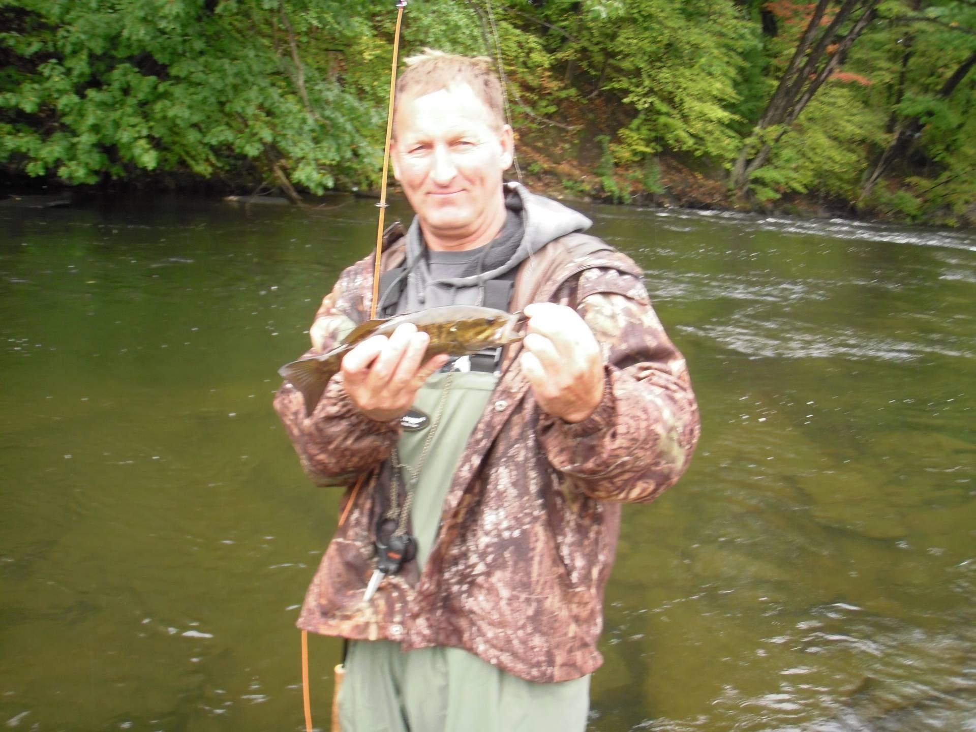 Salmon river smallmouth bass