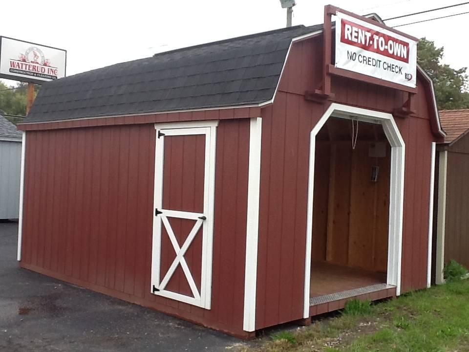 12x16 Lofted Barn Garage