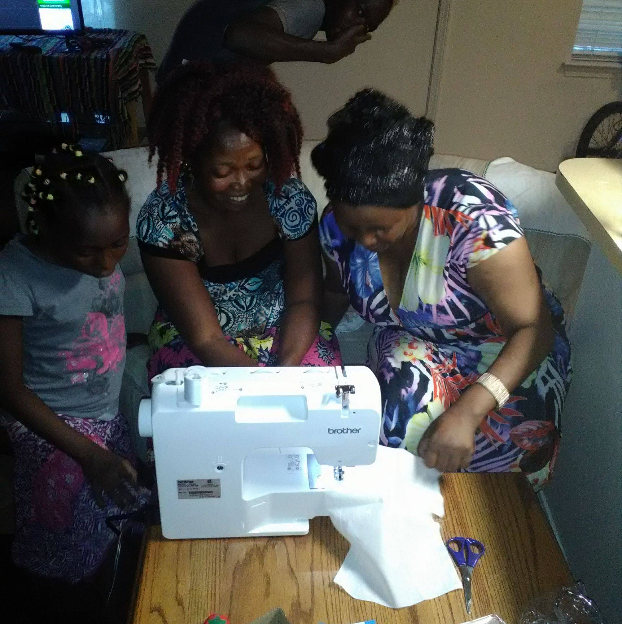 In Home Sewing Training