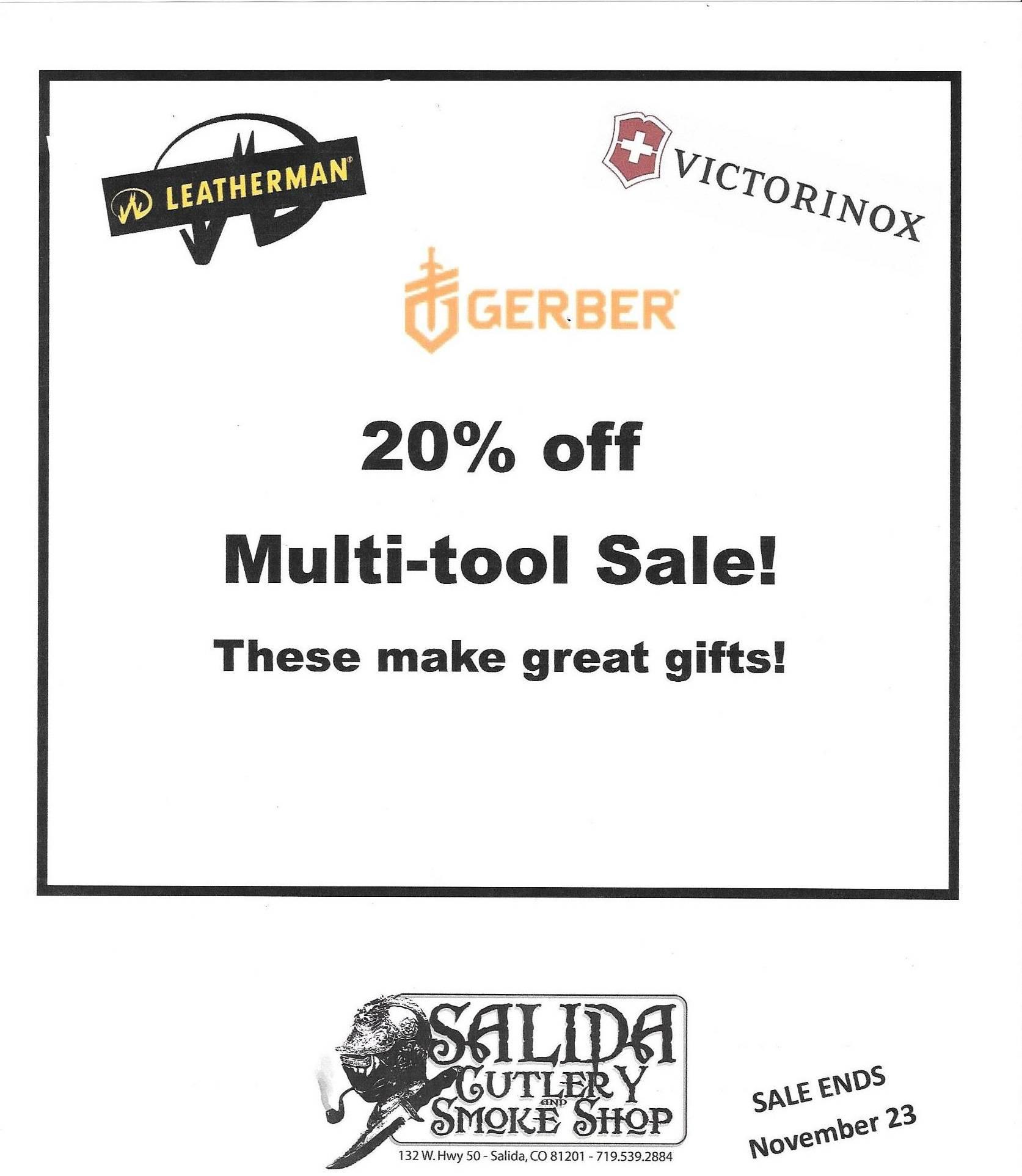 Multi-tool Sale