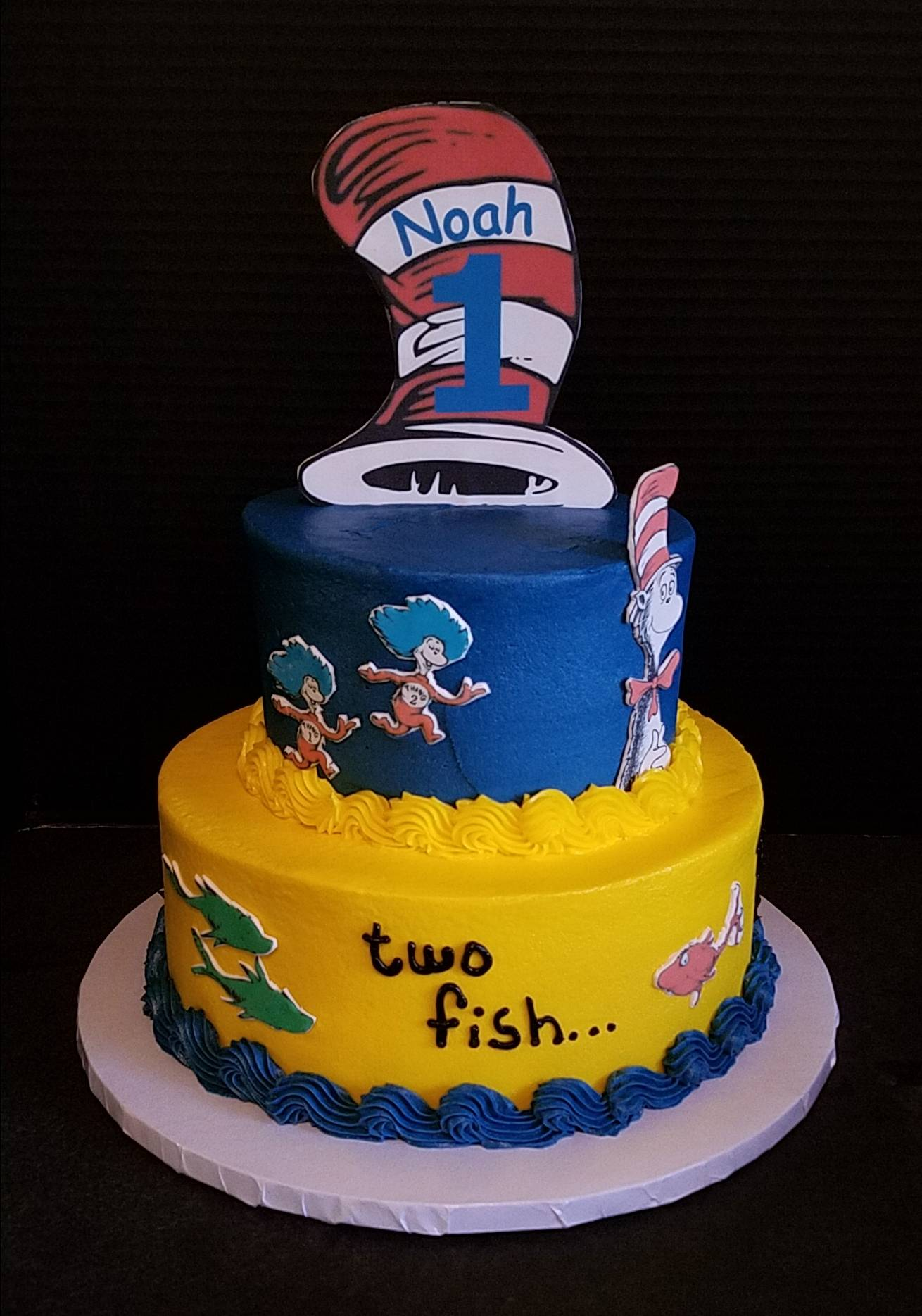 Dr. Seuss, One fish two fish red fish blue fish