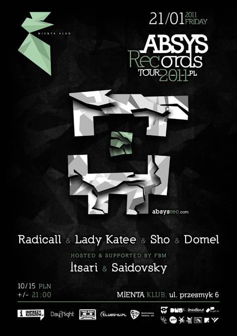 2011.01.21 - Mienta - Rzeszow  - Absys Records Tour 2011