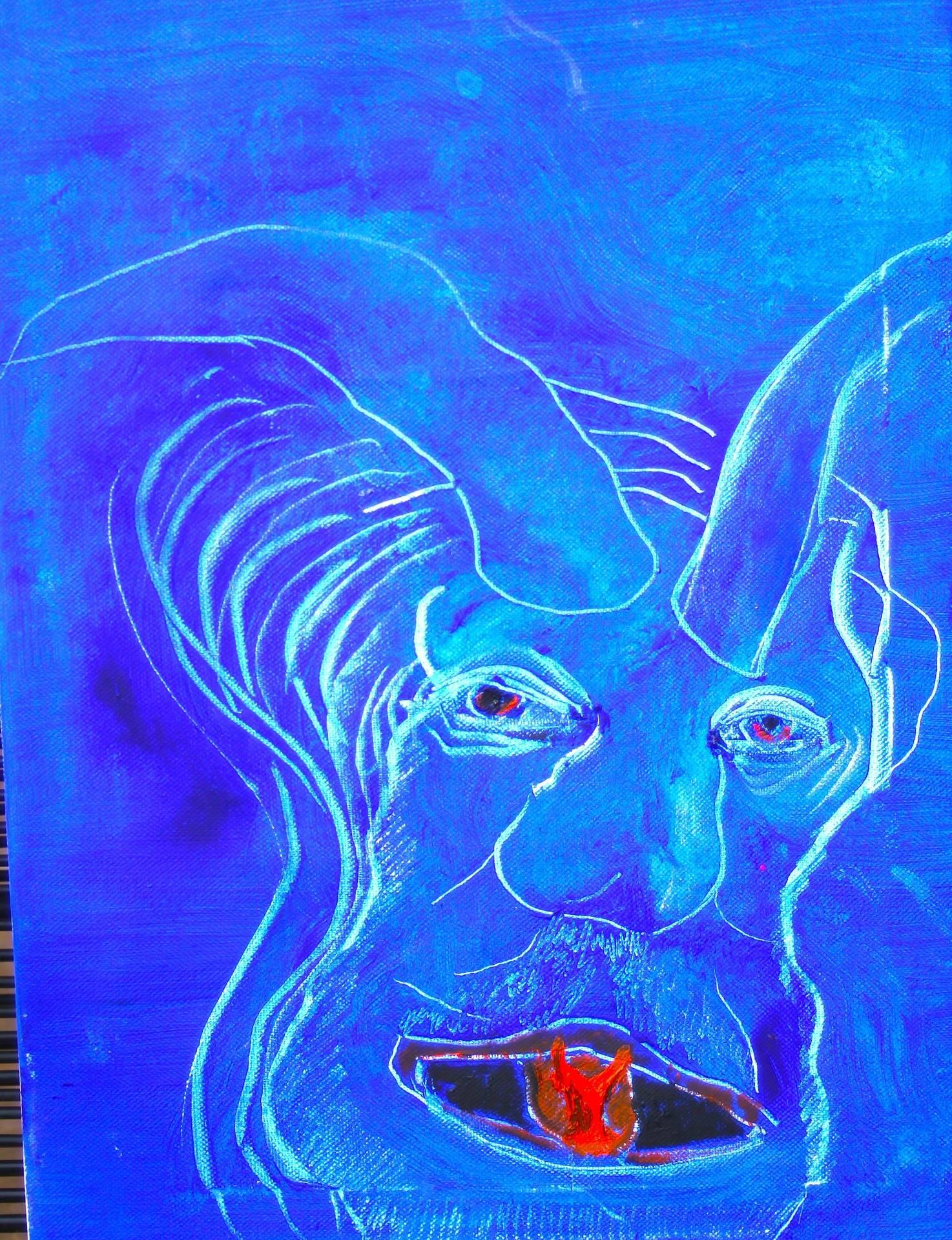 Blue devil ,what else?