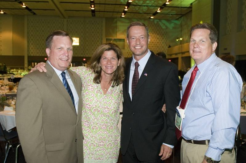Mayor Moe, Judge O'Malley, Governor O'Malley and Former Delegate Brian Moe