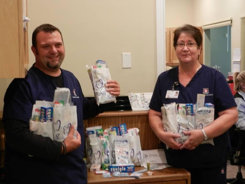 LCCPS develops oral health kits
