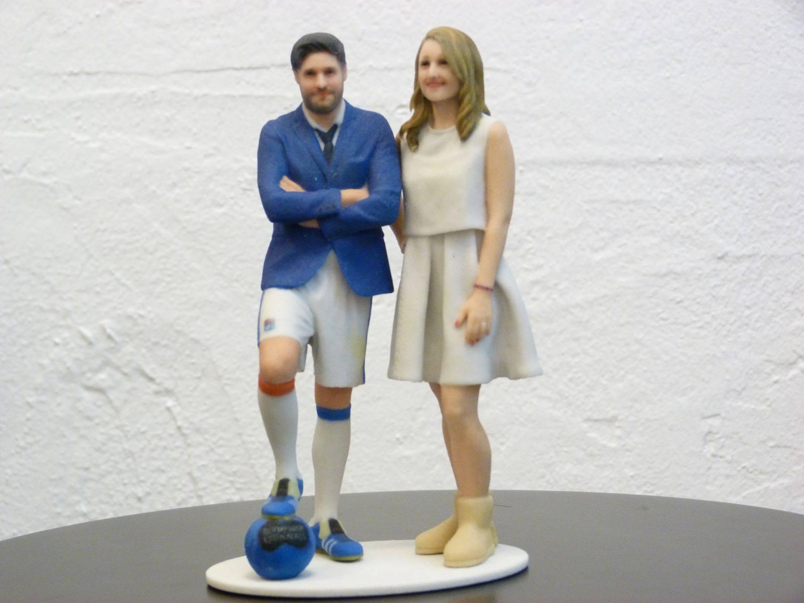 Figurines duo 20 cm