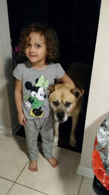 Teddy and His Human Sister