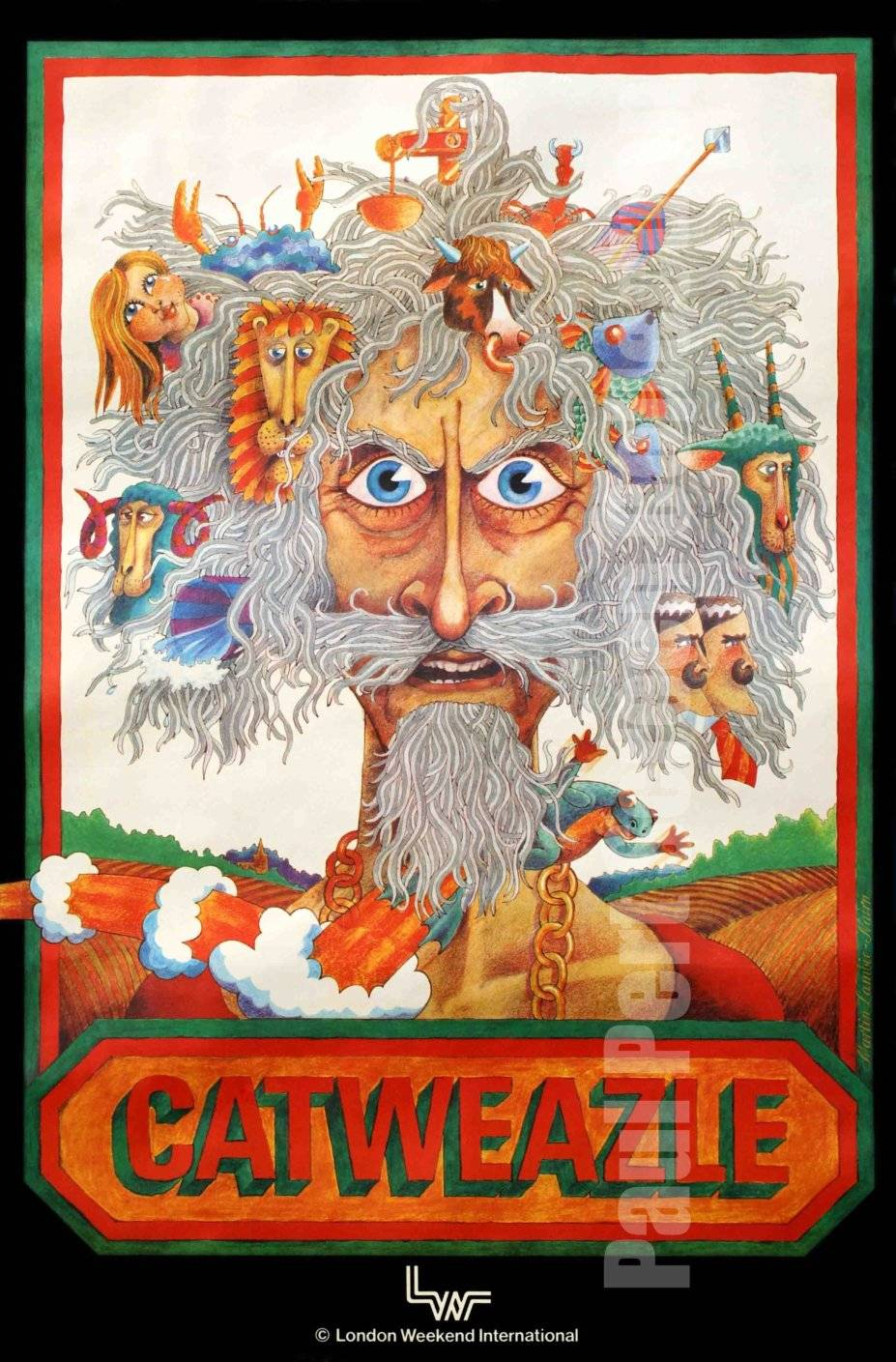 Catweazle - Mail-Away Poster