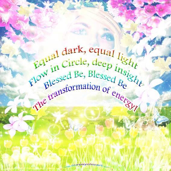 ✽ ✾ ✿ ~ Spring Equinox Blessings ~ ✽ ✾ ✿