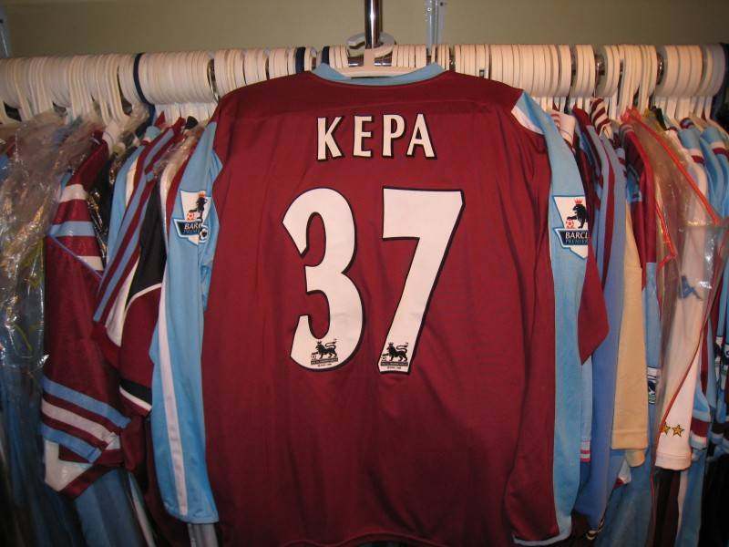 Kepa Blanco worn vs Liverpool  2006/07