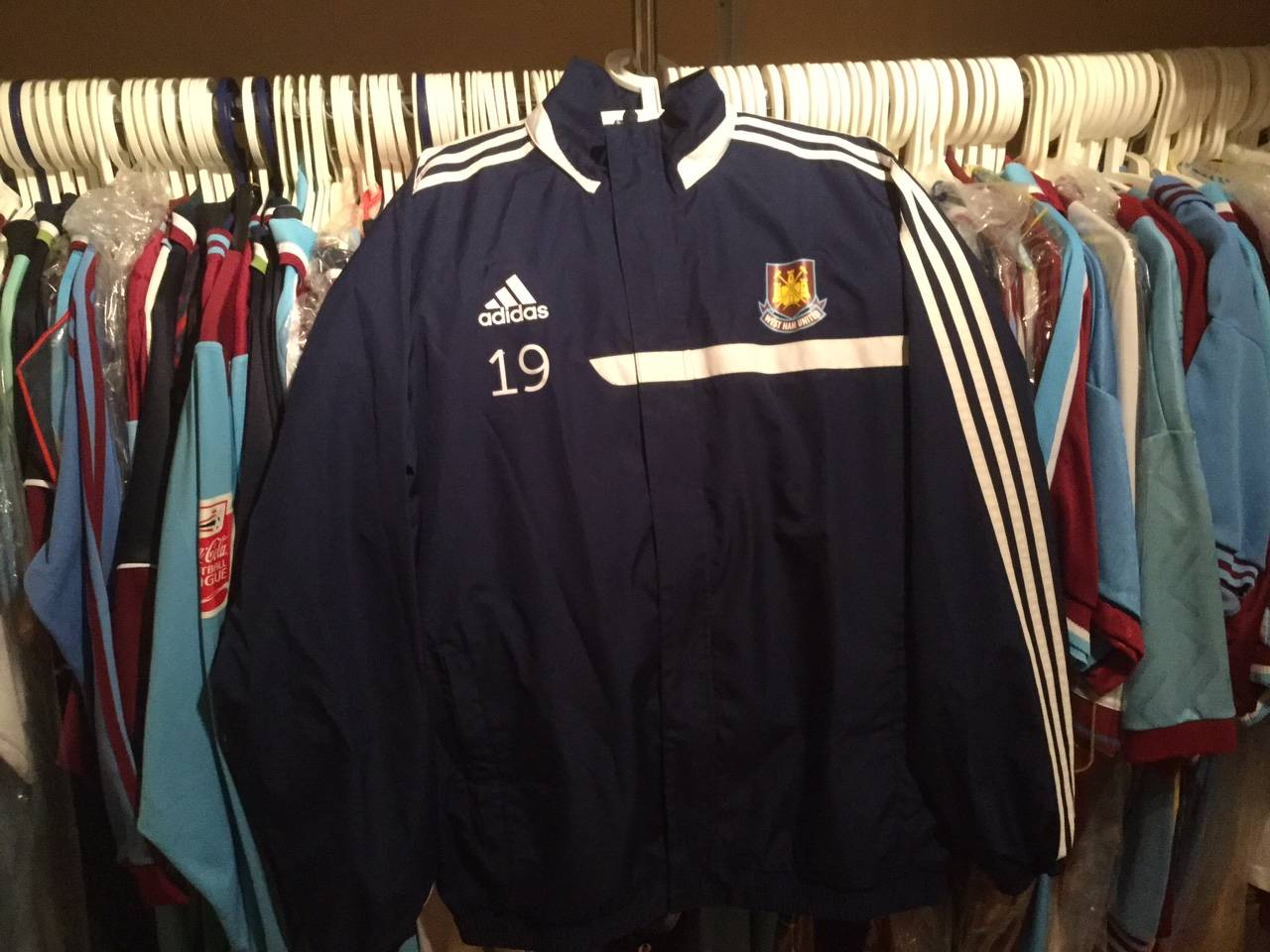 Ginger Pele´s tracksuit top.