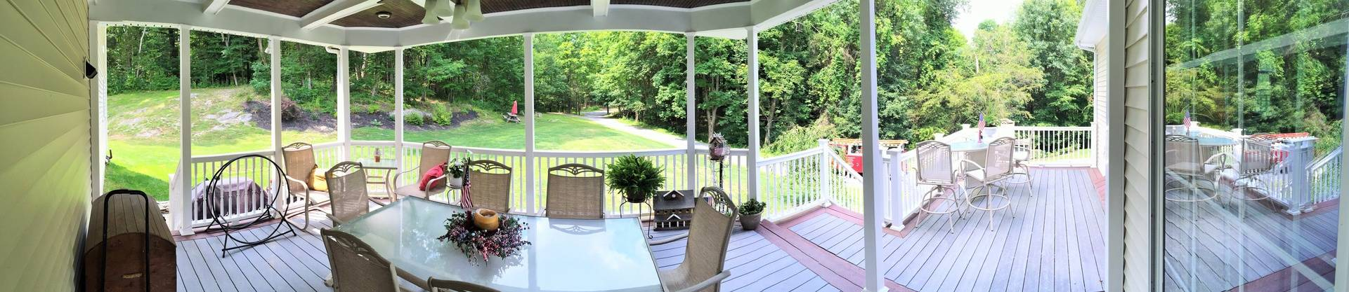 View from our back deck