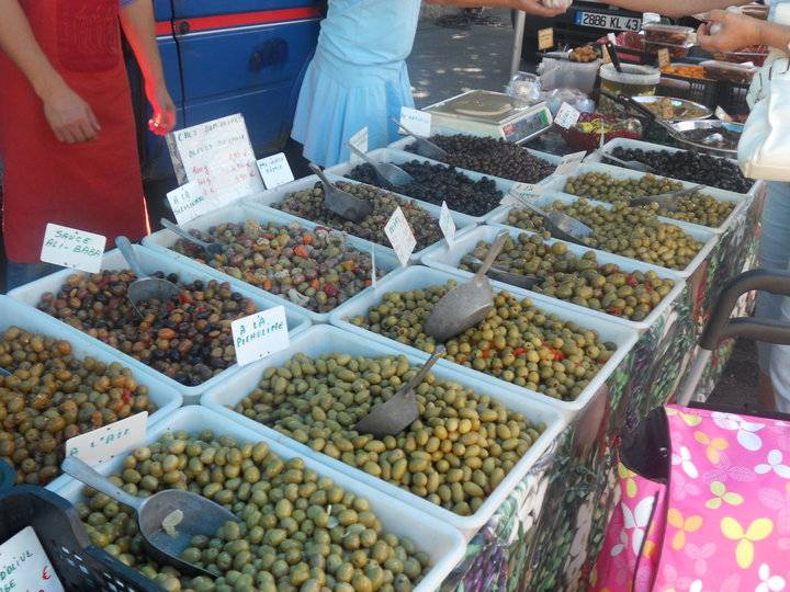 In The Market in Le Chambon