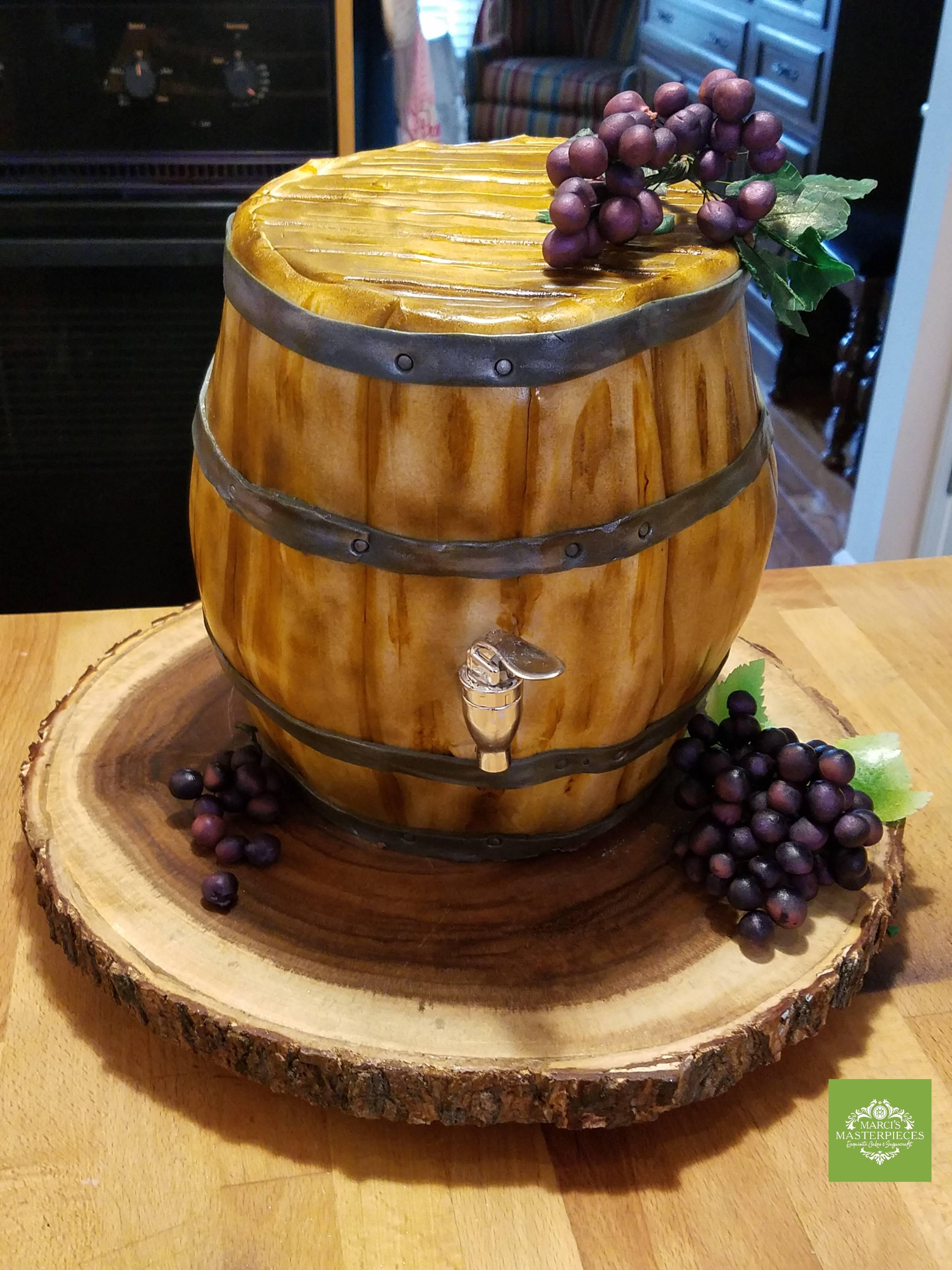 Wine lover's cake
