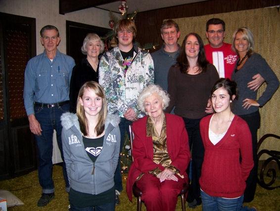 Wynne Family Christmas 2007