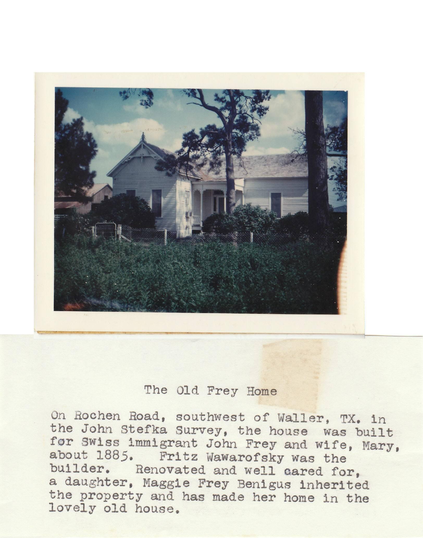 Frey Home in Waller