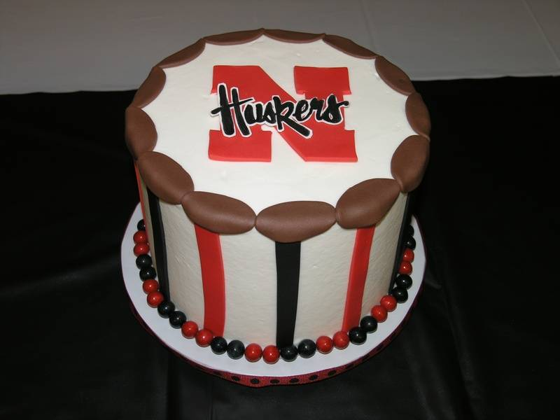 Husker's Groom's Cake