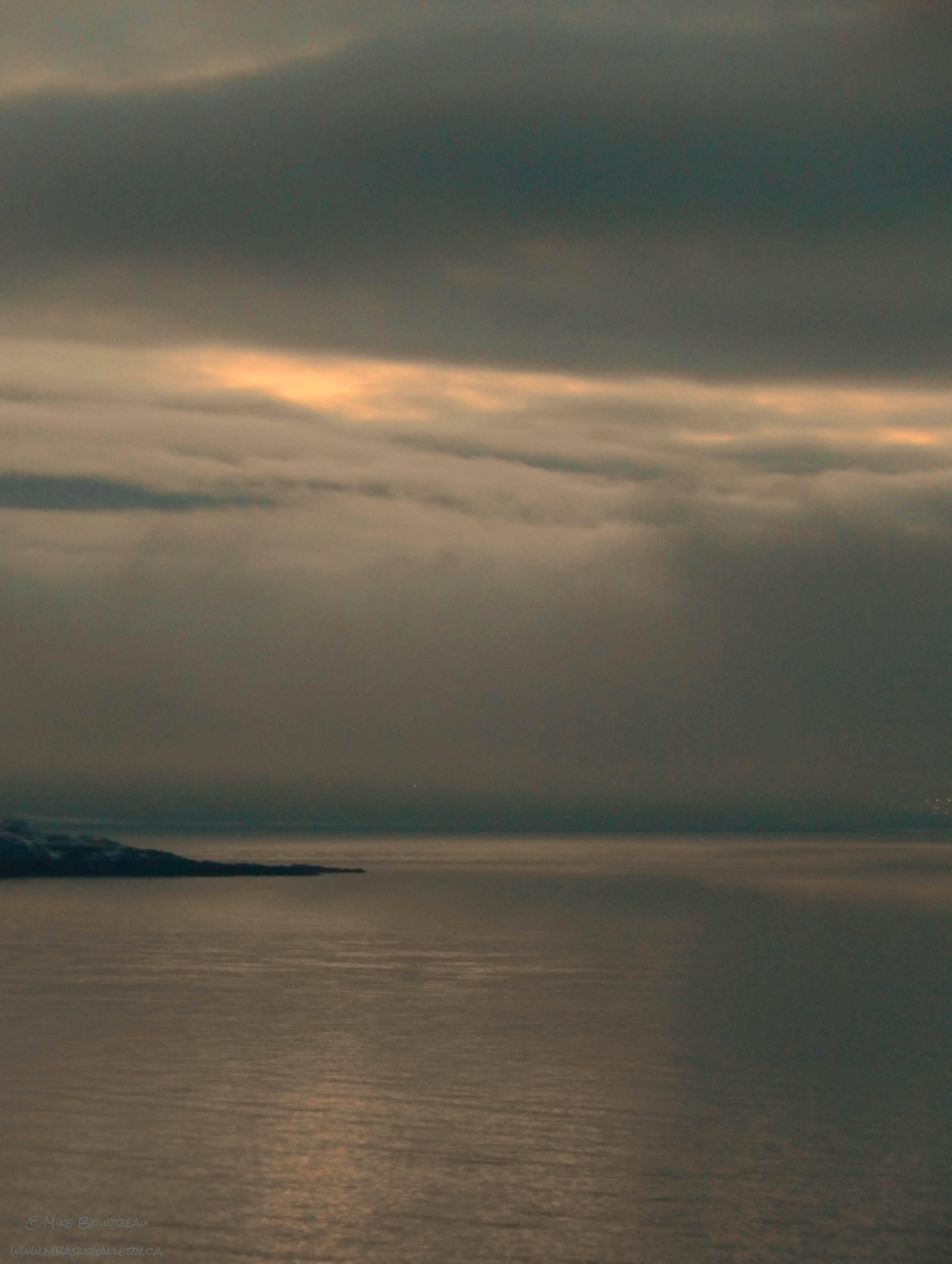 Bay Of Fundy Edge of Partridge Island, Saint Johh NB