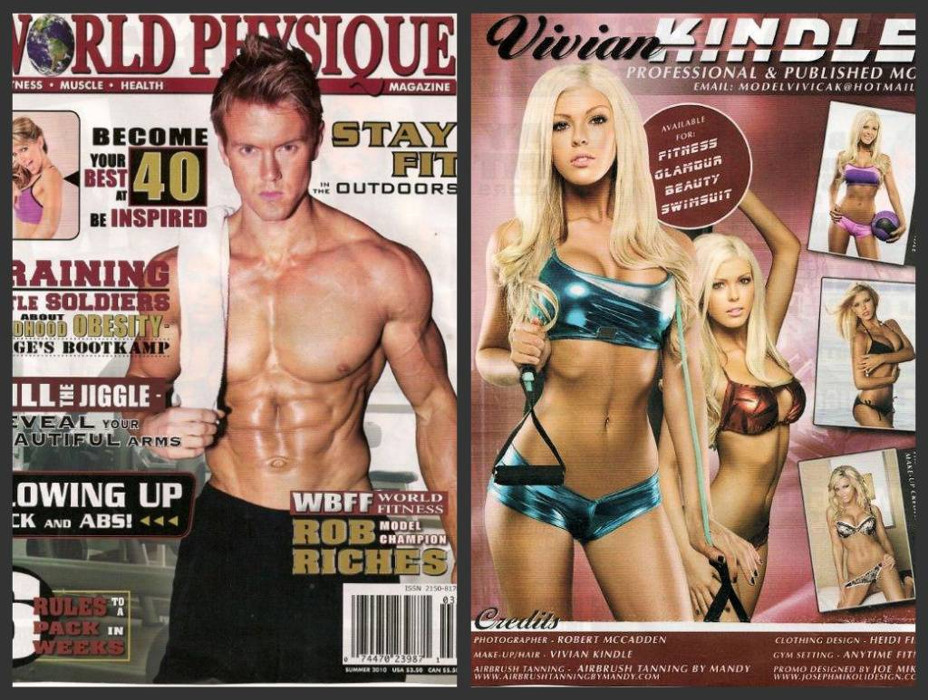Airbrush Tanning by Mandy in World Physique Magazine!