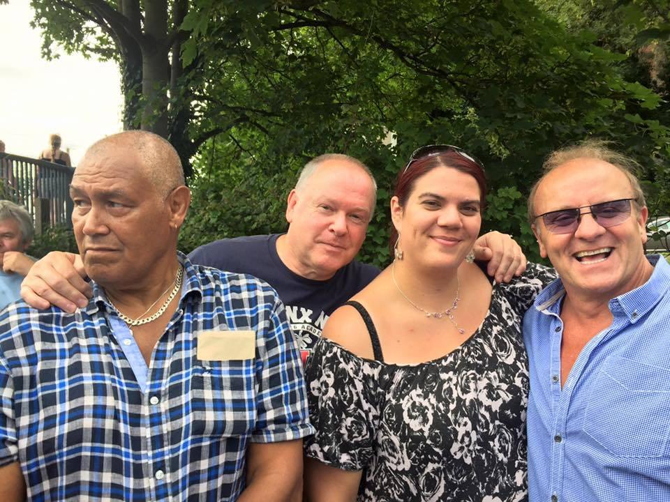 Johnny KIncaid, Bob Barratt, Lyndsey Mason & Mal Sanders