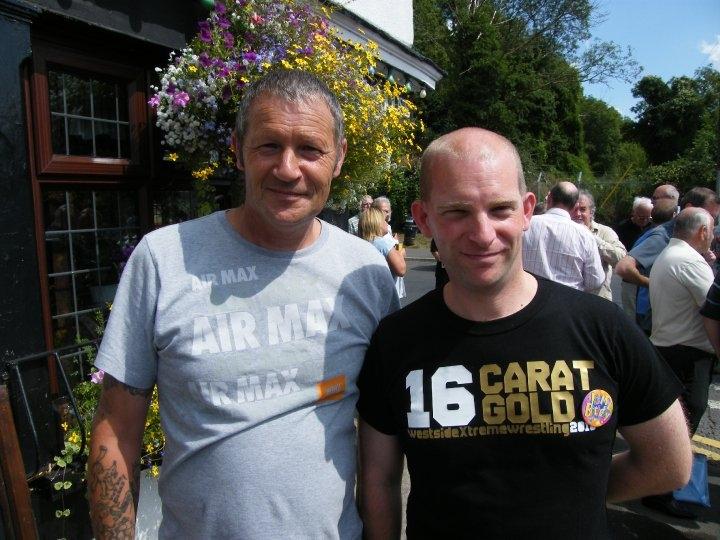 Kevin Richmond and Derek Williams