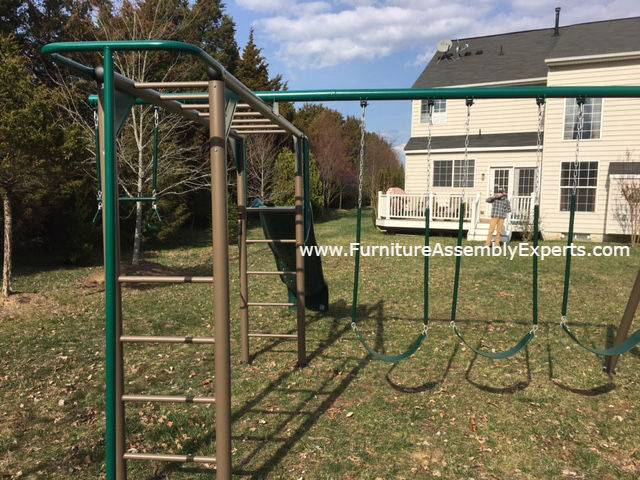 swing set installation service in clarksburg MD