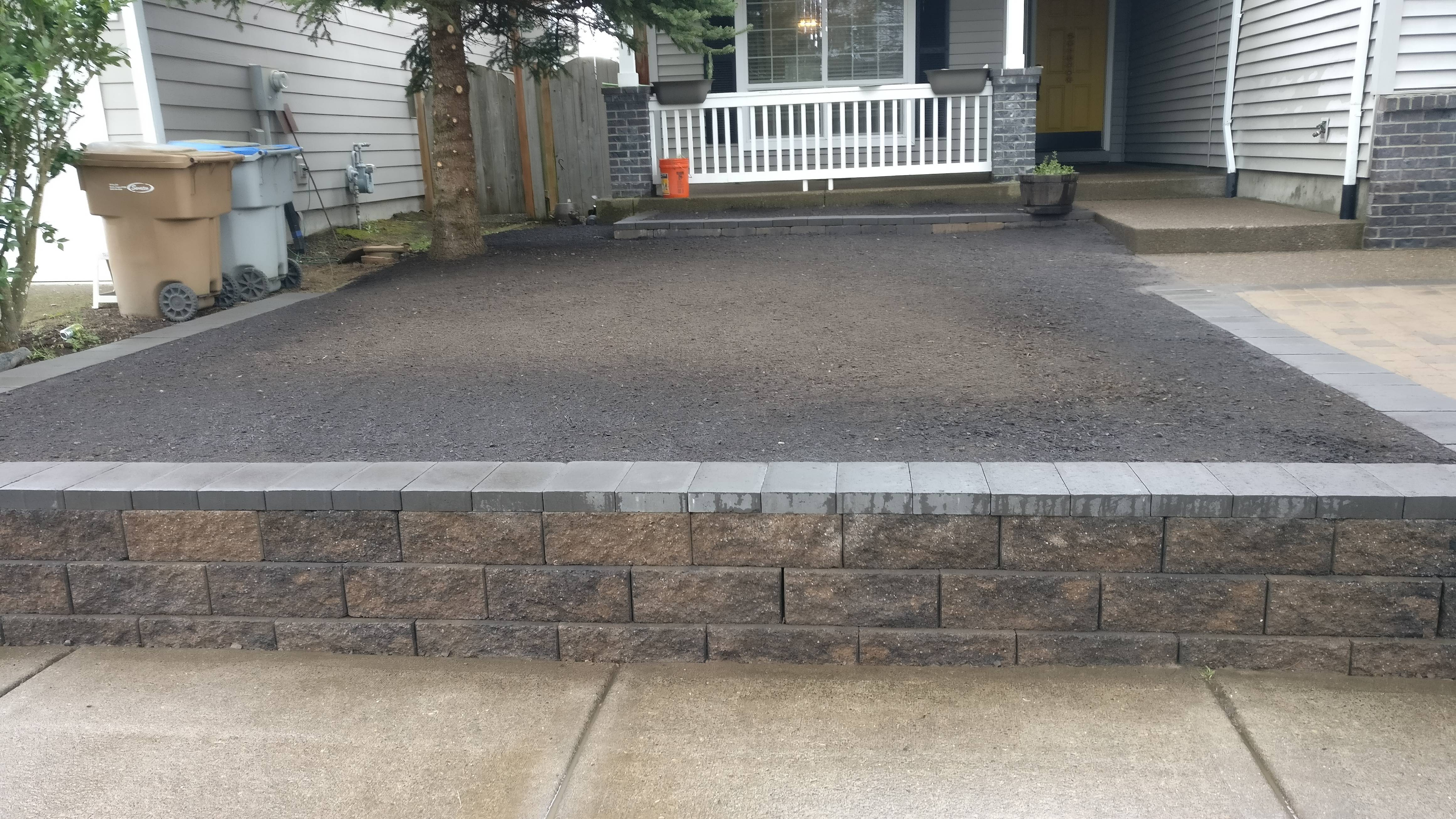 Retaining Wall Installation in Banks Oregon