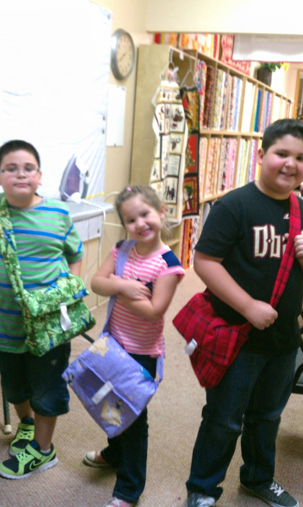 Kids bag class