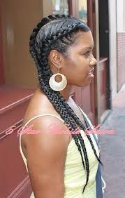 3 French Braid Style to the back