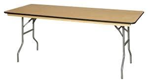 8' Wooden Table $12.00 ea