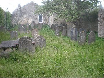 The Bath Jewish cemetery, dating from 1812