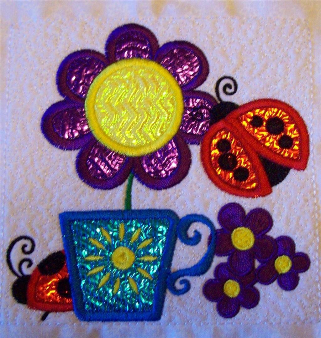 Anita Goodesign Mylar Spring Block