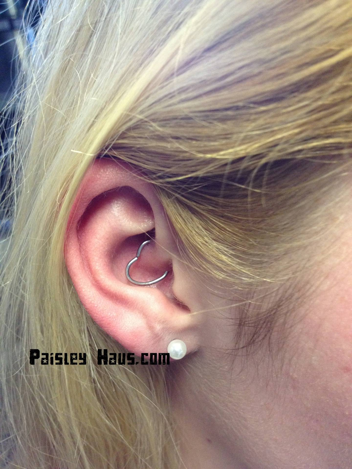 Daith Cartilage Ear Piercing