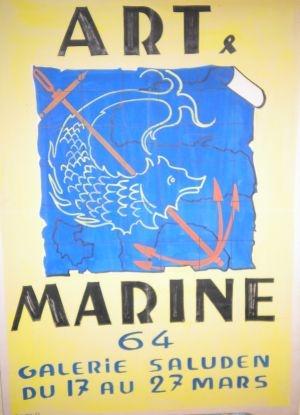 ART & MARINE Galerie SALUDEN