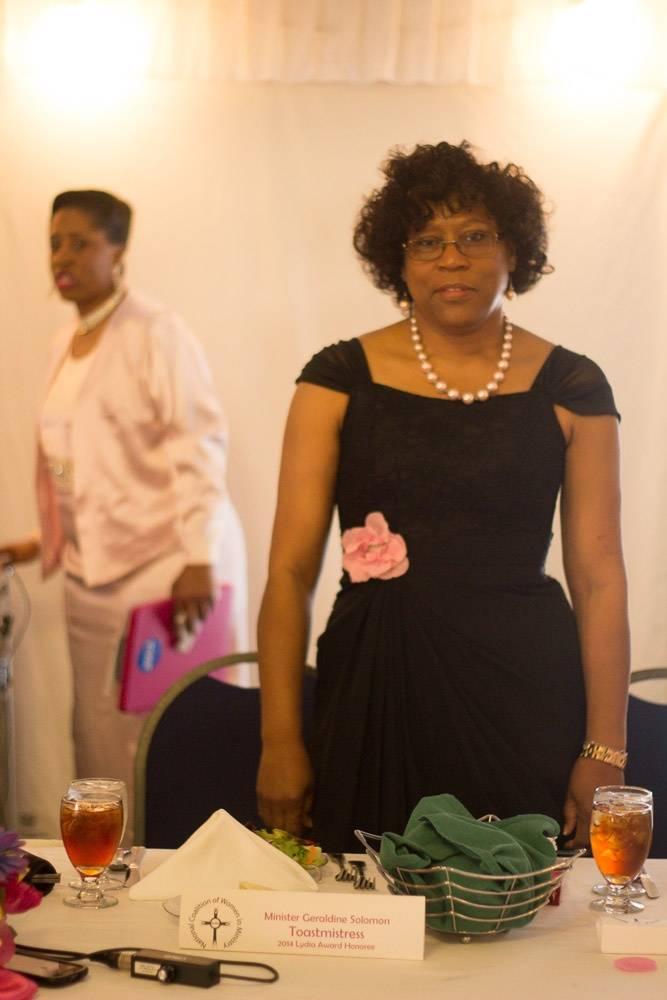 Minister Ordained Geraldine Solomon