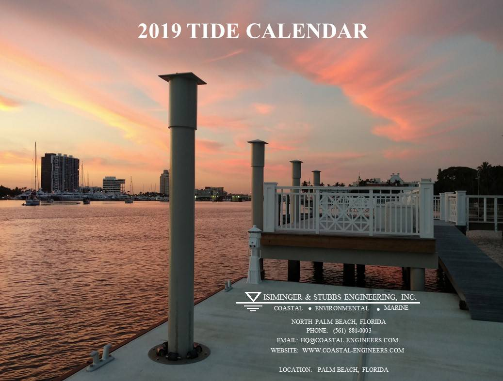 2019 Tide Calendar Cover