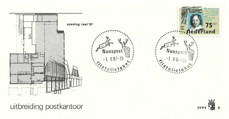 nr.8 met NVPH zegelnr.1371