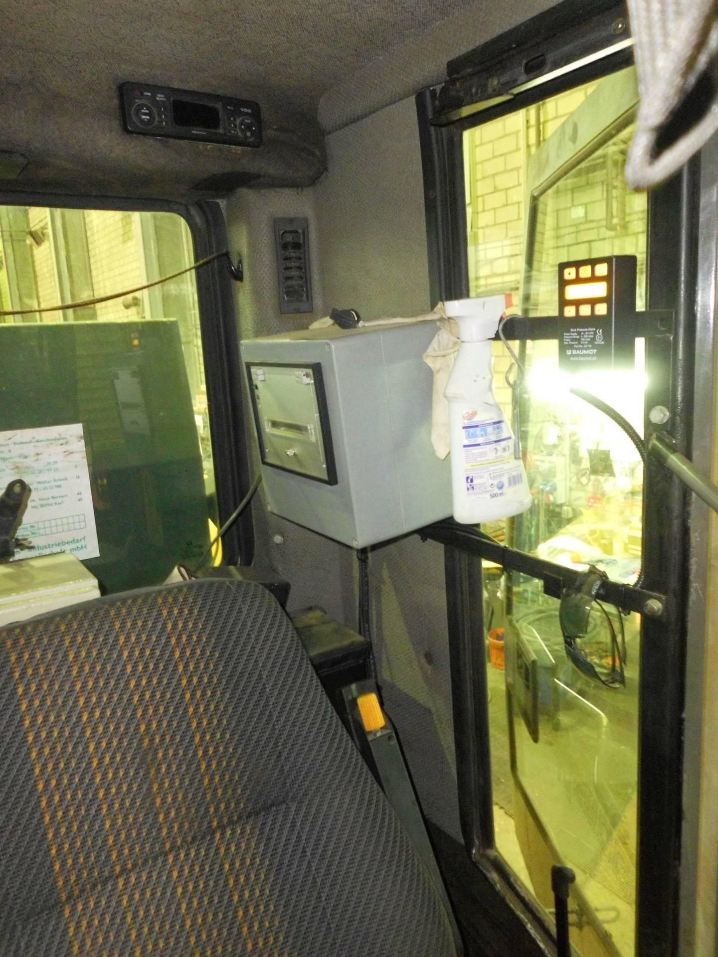 Sennebogen SR25T Kontrollanzeige