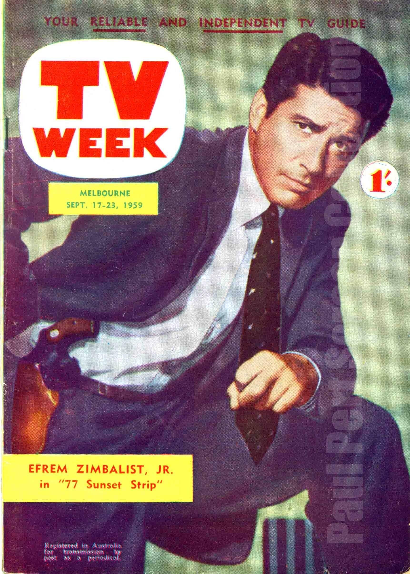 77 Sunset Strip - Efrem Zimbalist Jr.