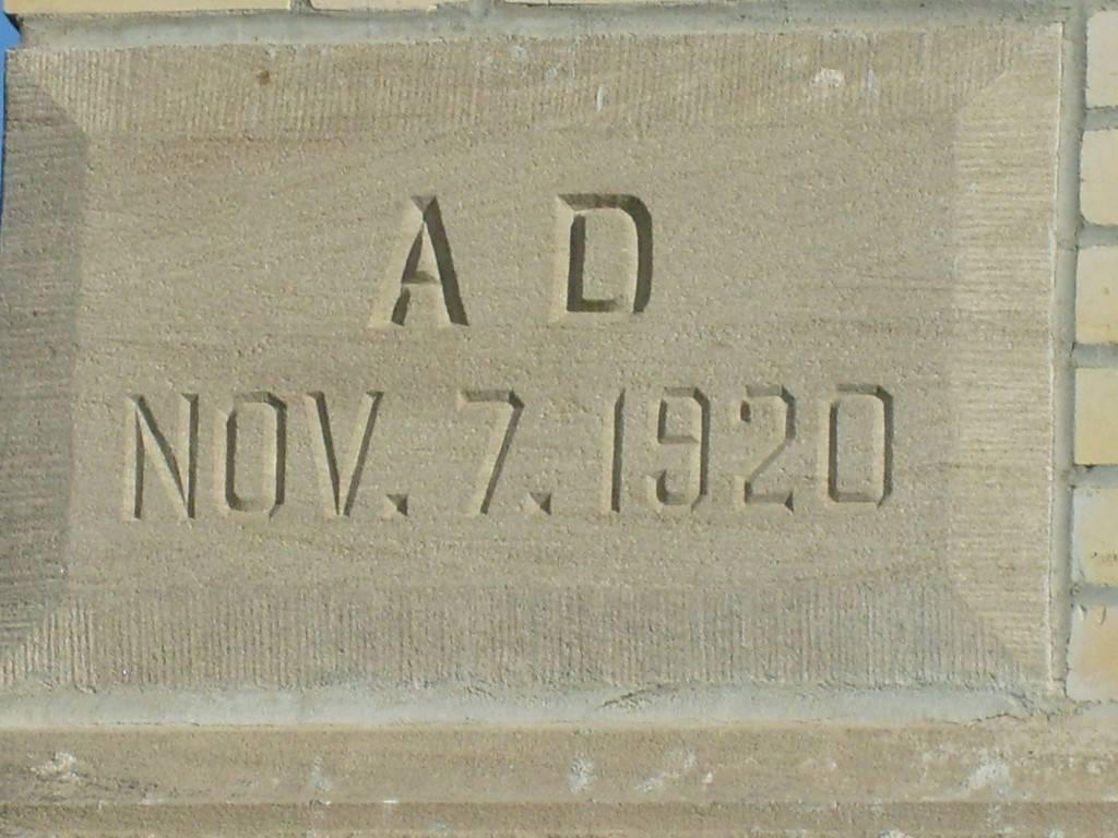 Built in 1920