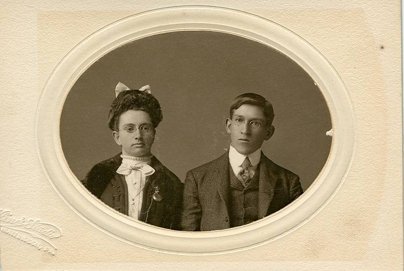 Bertha and Jackson Fisher