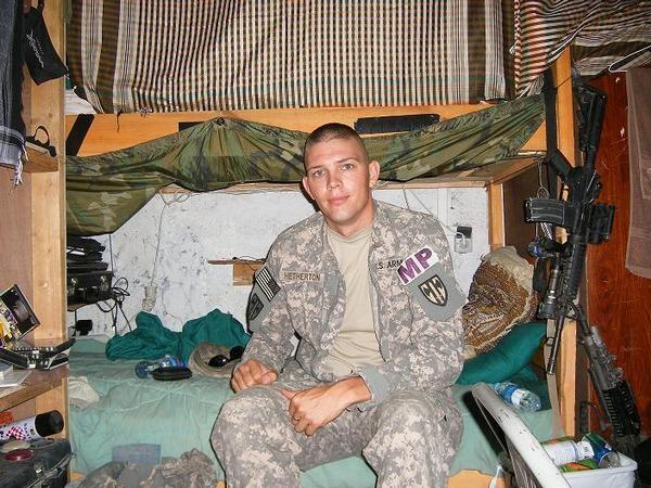 Brandon in Afghanistan