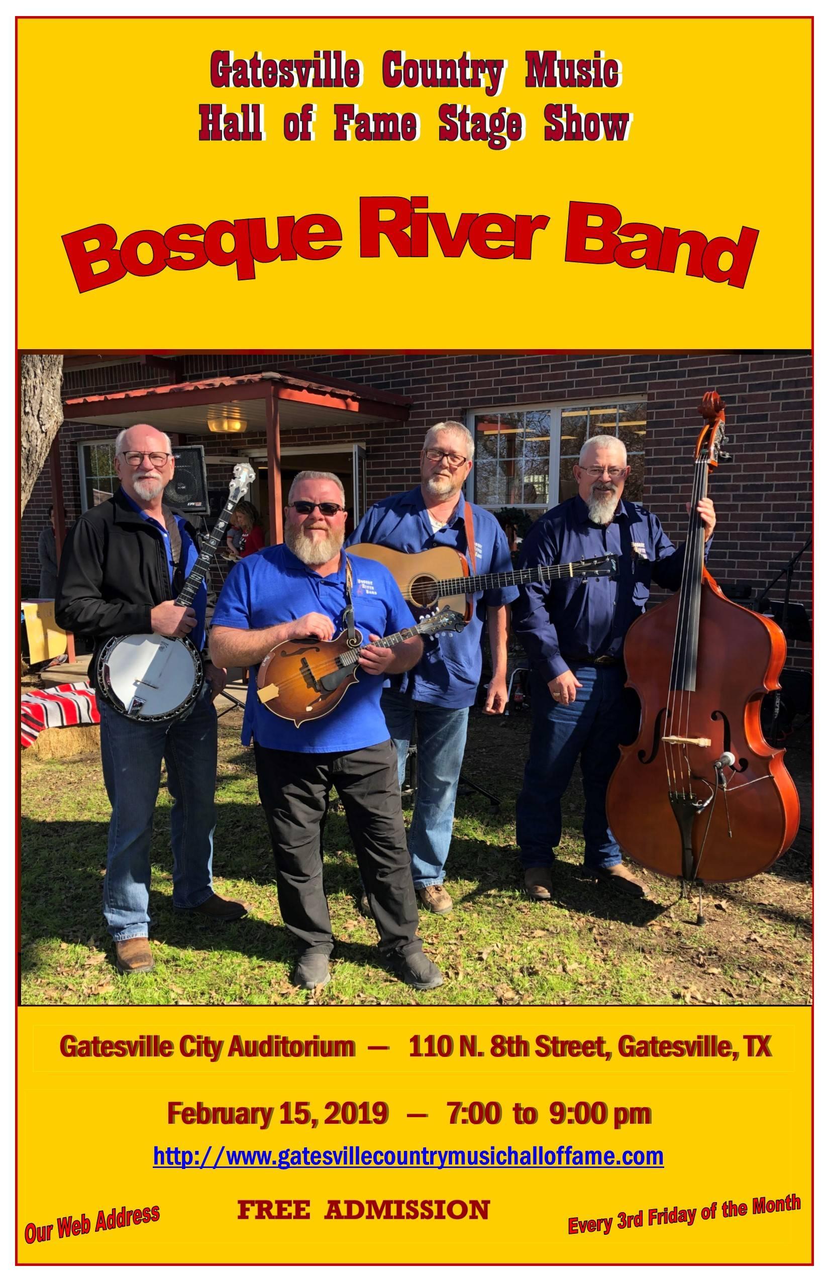 Bosque River Band, February 15, 2019