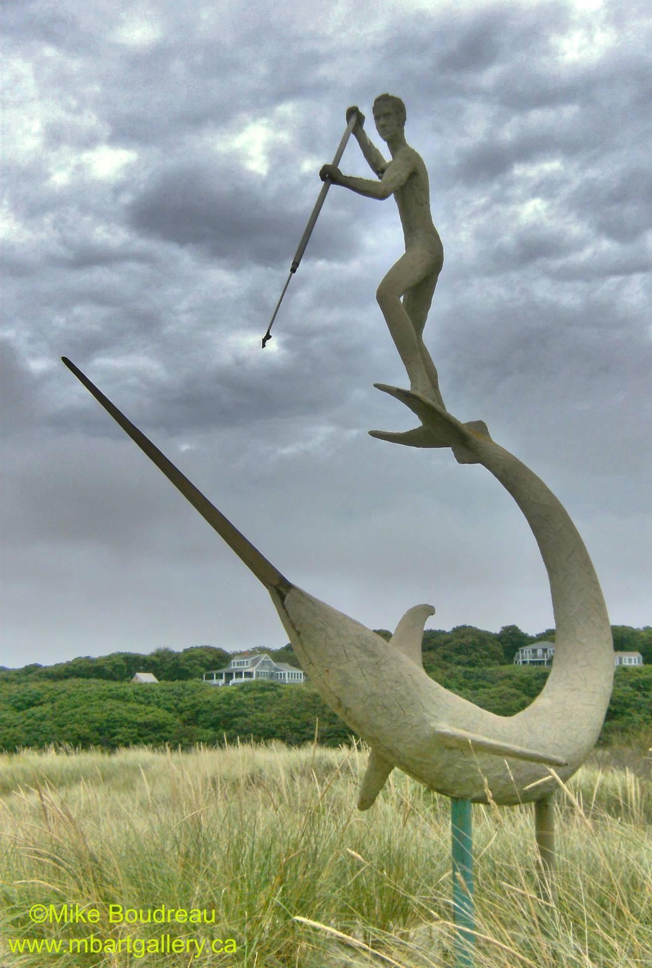 Swordfish Sculpture, Marta's Vineyard