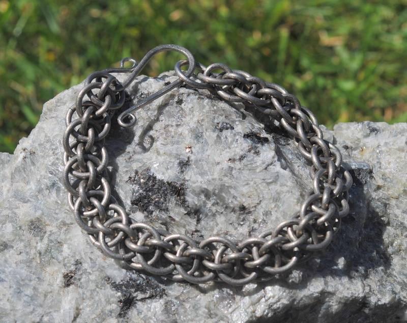 Titanium Vipera bracelet